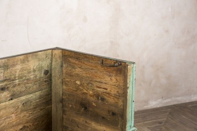 distressed wooden crate