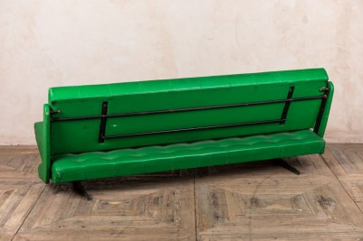 vintage lime green sofa bed