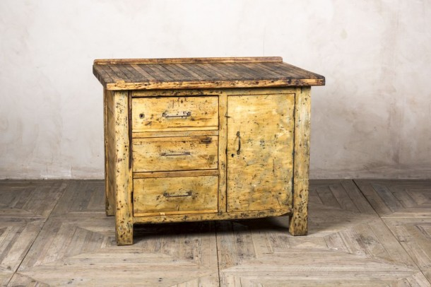 Vintage Wooden Kitchen Island