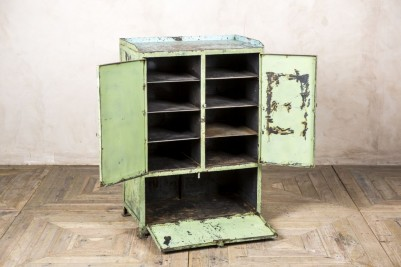 distressed industrial style unit