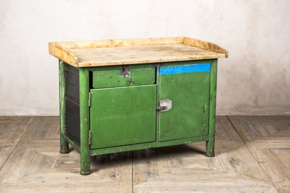 Industrial Distressed Kitchen Unit