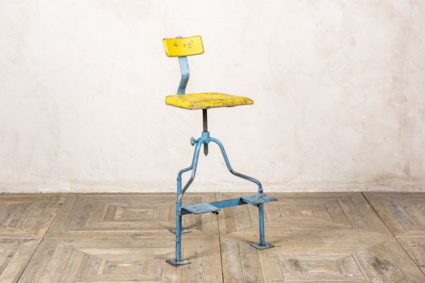 Adjustable Industrial Style Stool