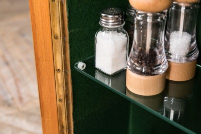 small salt and pepper cabinet