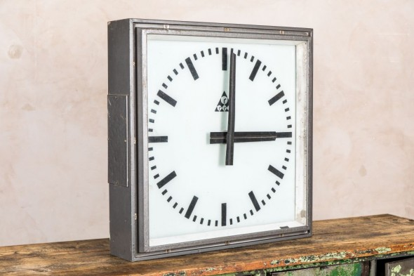 Large Retro Electric Clock
