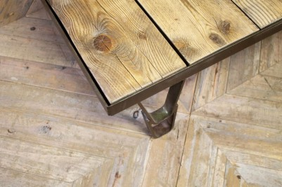 Upcycled Industrial Style Coffee Table