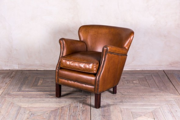 Savoy Leather Armchair