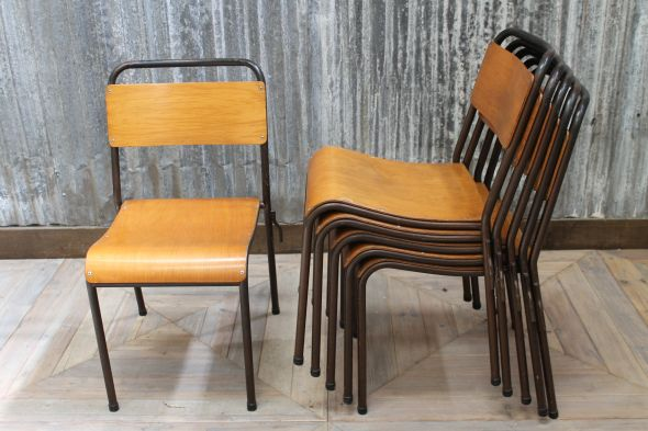 Industrial School Chairs