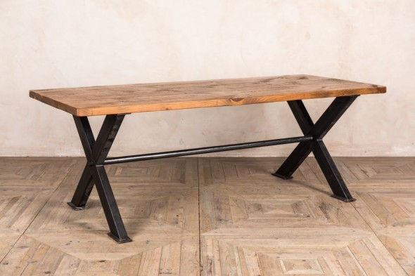Sheffield X-Frame Dining Table (Dining)