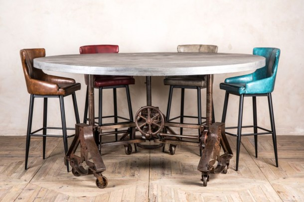 Detroit Height Adjustable Dining Table