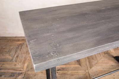 grey table