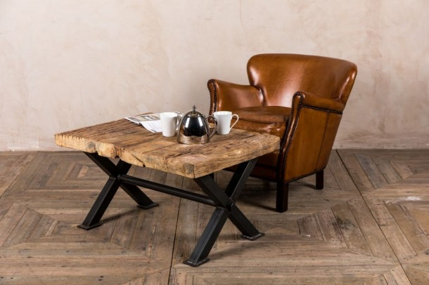 Byron Rustic Coffee Table