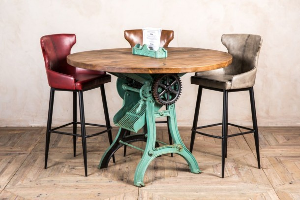 Vintage Industrial Cutter Table