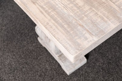 pine whitewashed coffee table