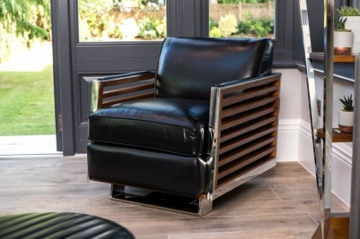 black-victory -chair