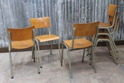 original old school chairs