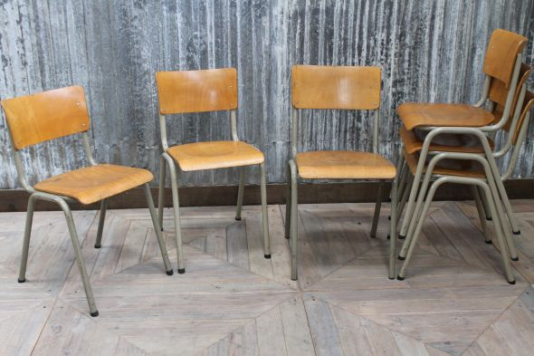 Vintage Industrial Chairs