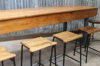 pine factory table