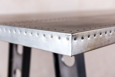 tall zinc top table
