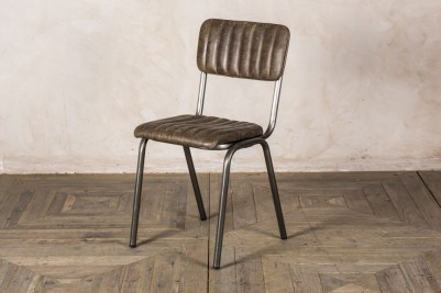 antique brown stacking chairs