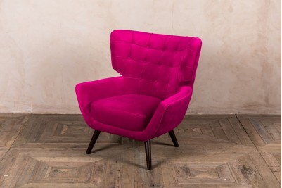Arlo Velvet Accent Chair