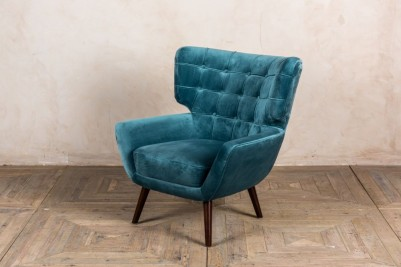 teal arlo chair