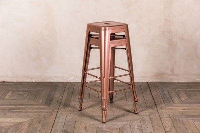 bright copper stacking stools