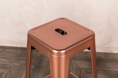 bright copper stools
