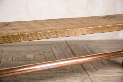 copper bench