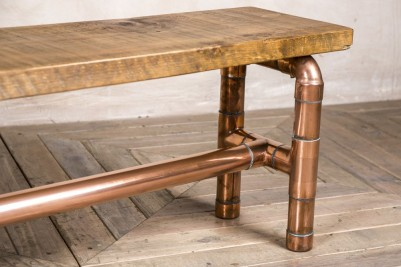 pipework dining bench