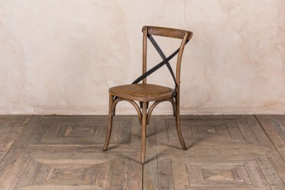 rustic oak Bentwood chair