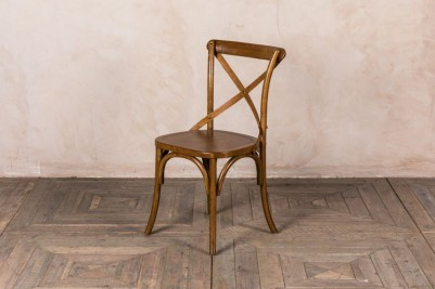 solid seat Bentwood chair