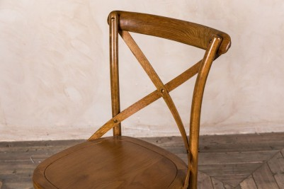 solid seat dining chair