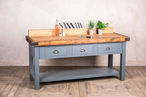 Bespoke Oak Top Butcher's Block Sideboard