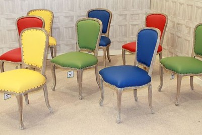 limed oak chairs leather