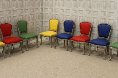 primary coloured chairs