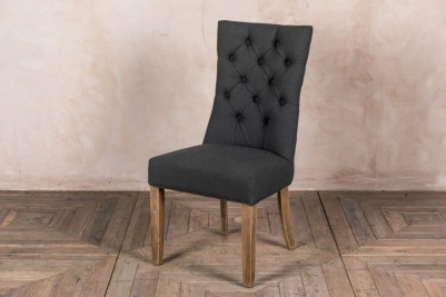 french style buttoned chair