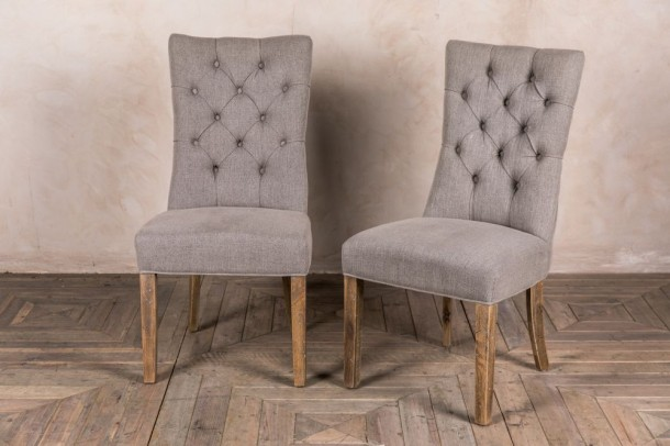 Brittany Linen Upholstered Chair Range