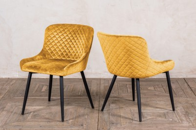 mustard Bronte chairs