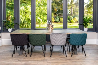 quilted dining chairs