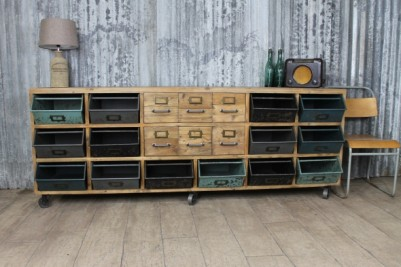 wheeled industrial cabinet