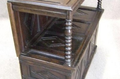 Carved Oak Cupboard