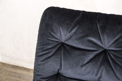 black velvet celine chair