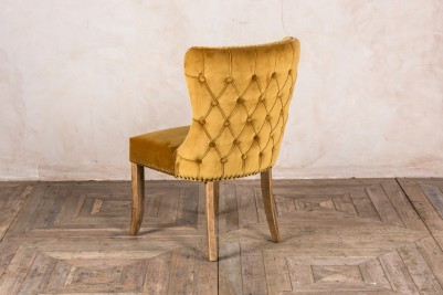 chamonix button back side chair