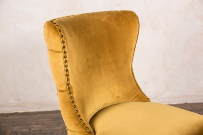 chamonix mustard chair