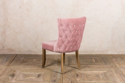 pink side chair
