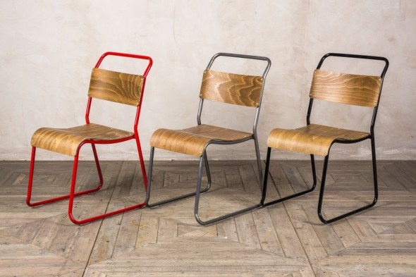 Chelsea Plus Stacking Plywood Dining Chair Range