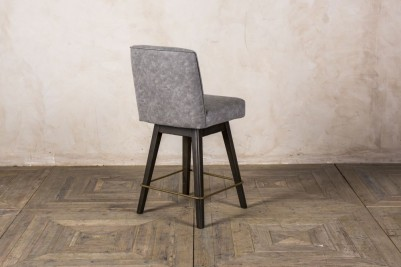 comtemporary grey bar stools