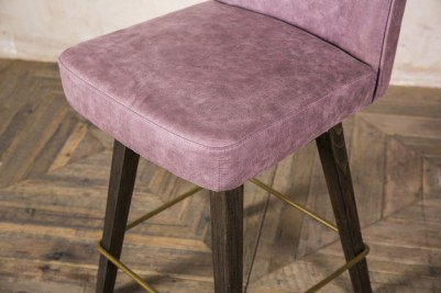mauve bar seating