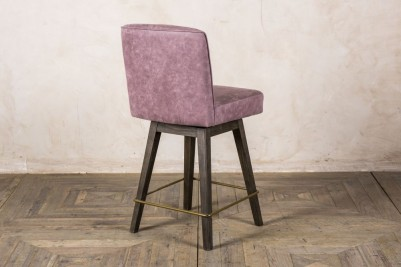 mauve bar stool