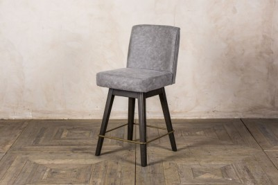 modern grey bar stools